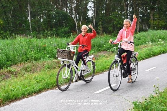 Fiets4daagse Westerbork 2019